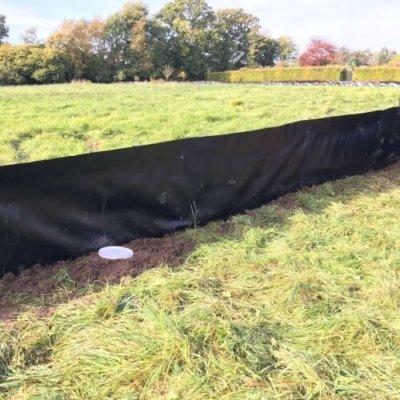 Newt Fencing Pitfall Traps Mitigation Uk