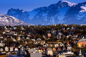 Sommernatt i Tromsø