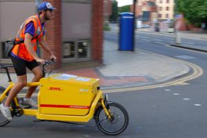 Transportsykkel, DHL