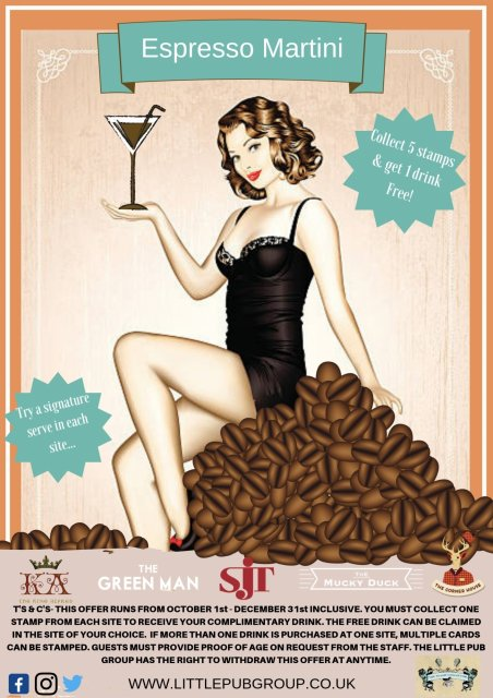 Collectors Card Espresso Martini Sept Dec