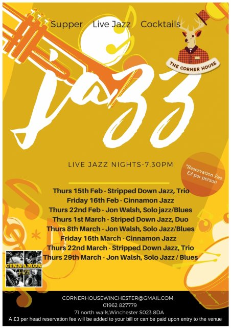 Ch Jazz February March Poster 1