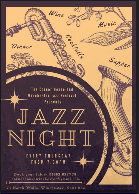 Jazz Night Front Cover April May
