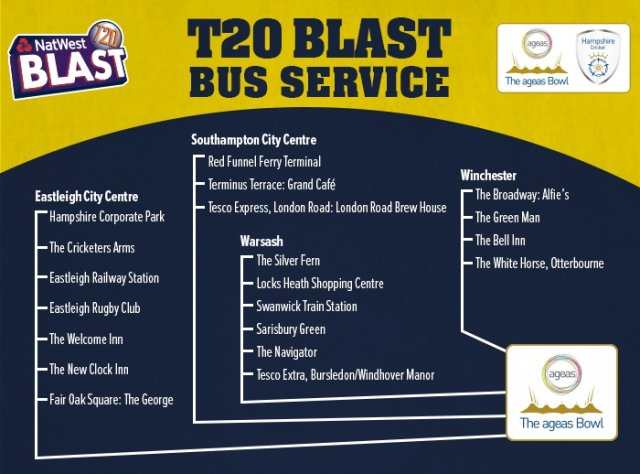 T20 Blast Bus Graphic