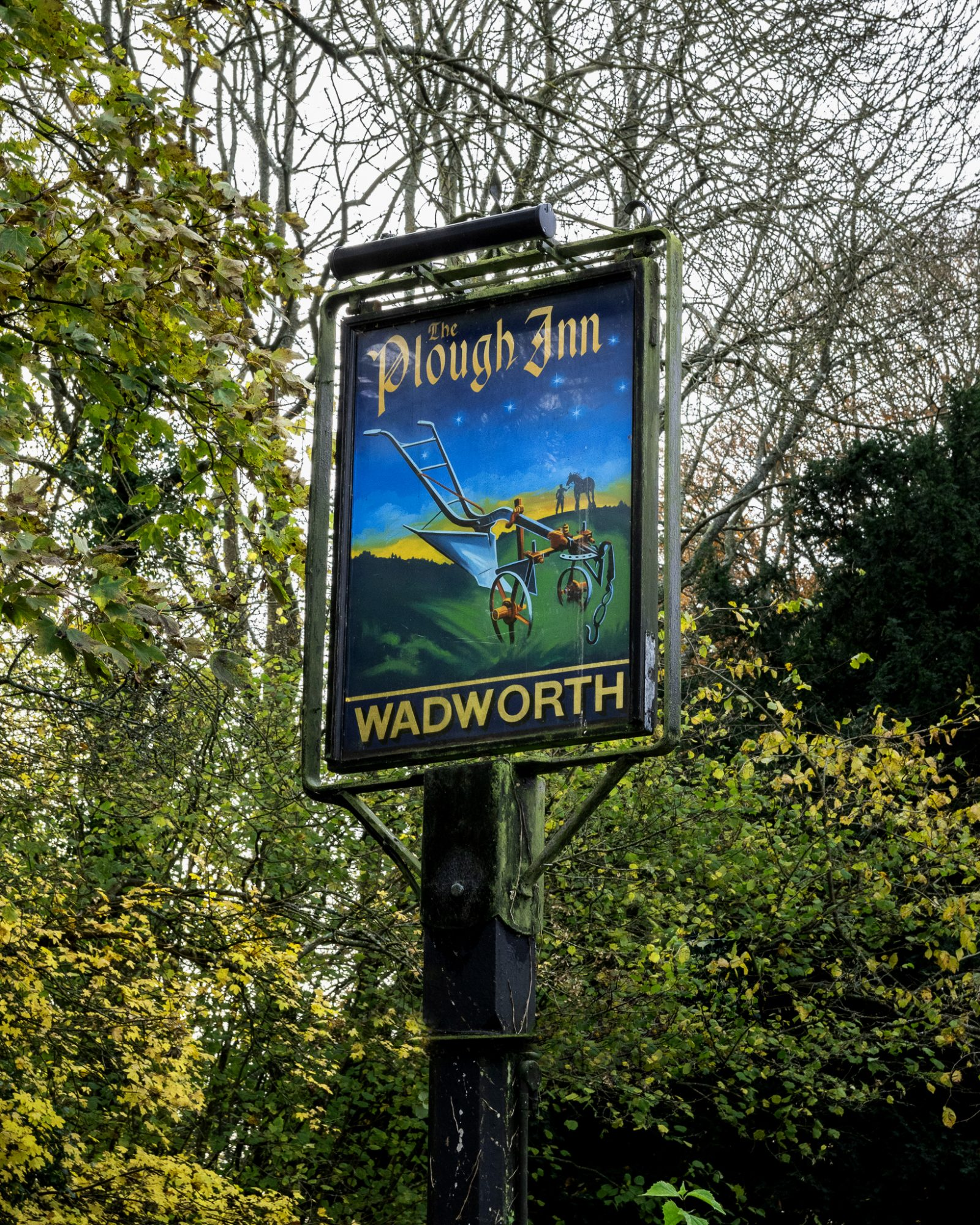 Plough Sign