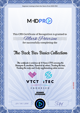 Example of a CPD Certificate