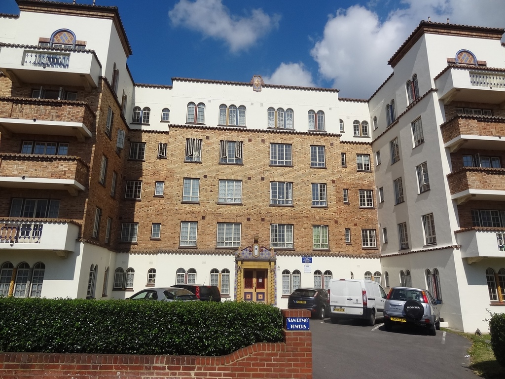 San Remo Towers, Sea Road,Bournemouth