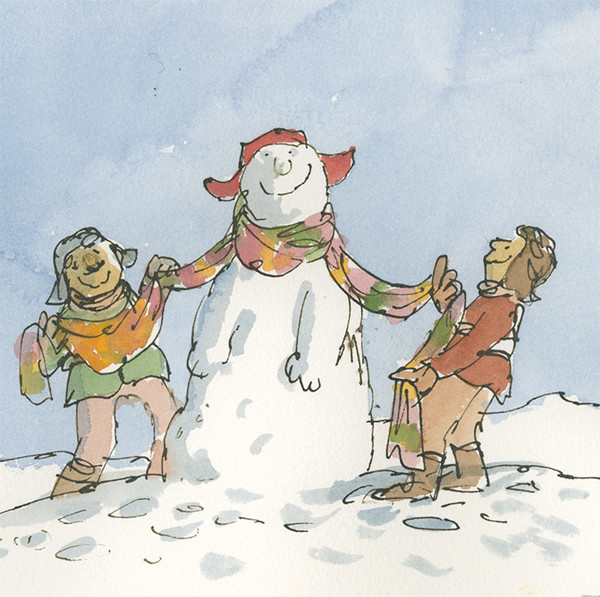 Christmas Cheer by Quentin Blake  (mixed pack)