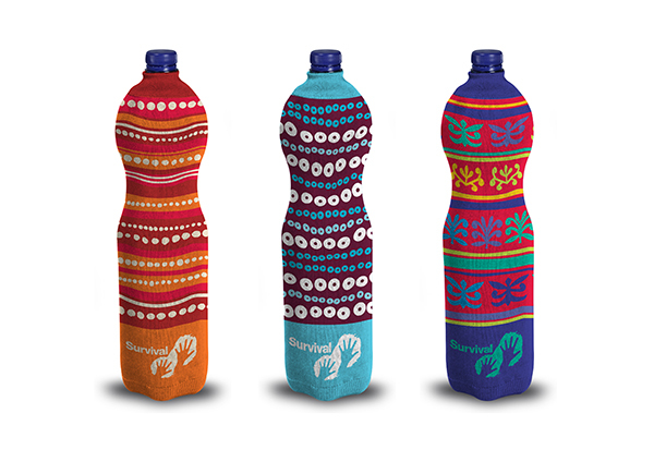 Tribal bottle covers (large)