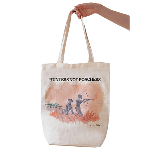 """Bushmen bag"" by Quentin Blake"