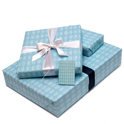 Leaf giftwrap