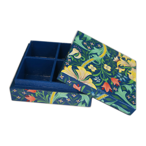 NEW: Indian hand-painted jewellery box - Varkala