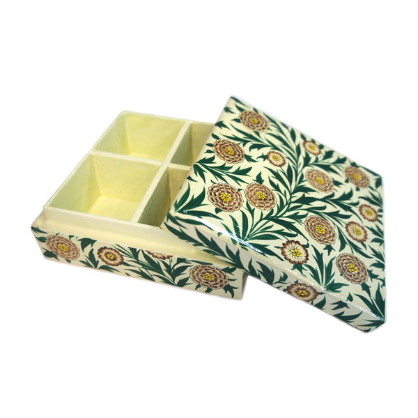 NEW: Indian hand-painted jewellery box - Chala
