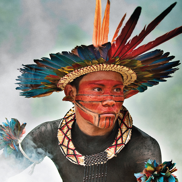 Asurini do Tocantins tribesman cards