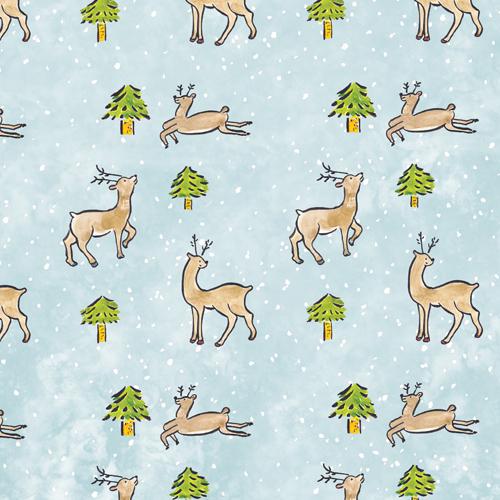 Reindeer giftwrap