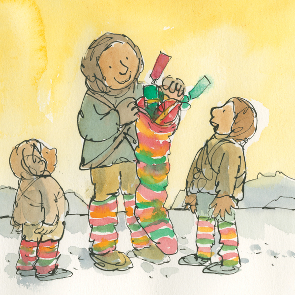 Stocking Surprise by Quentin Blake