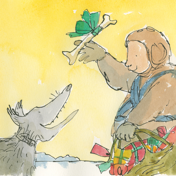Christmas Treat by Quentin Blake