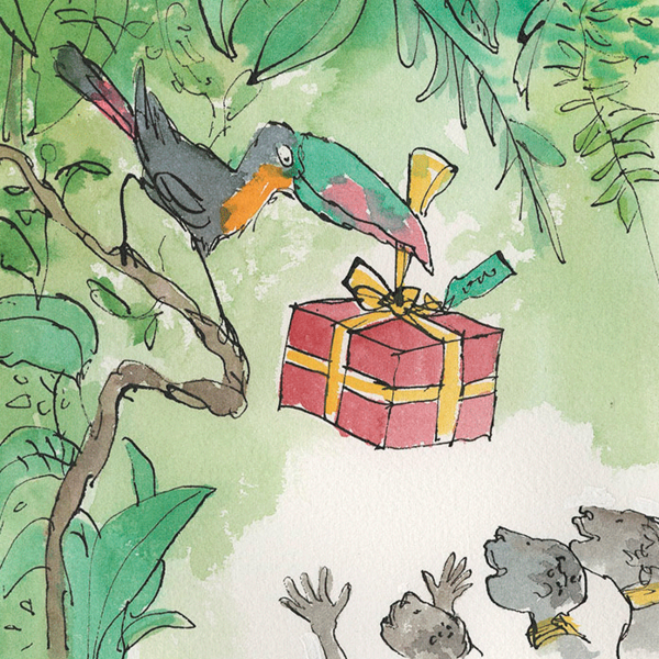 Festive Gift by Quentin Blake