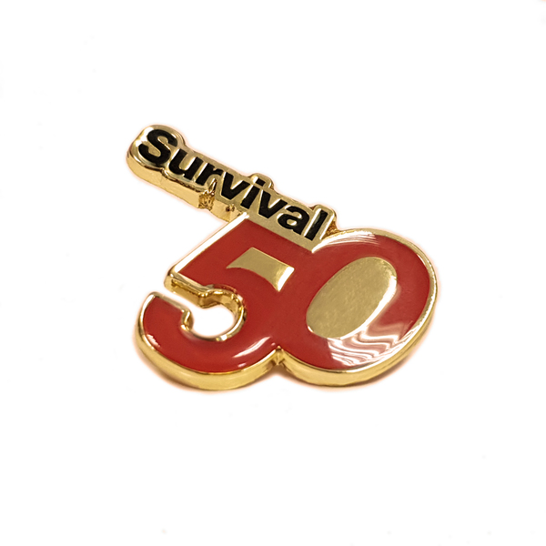 NEW: 50th Anniversary pin badge