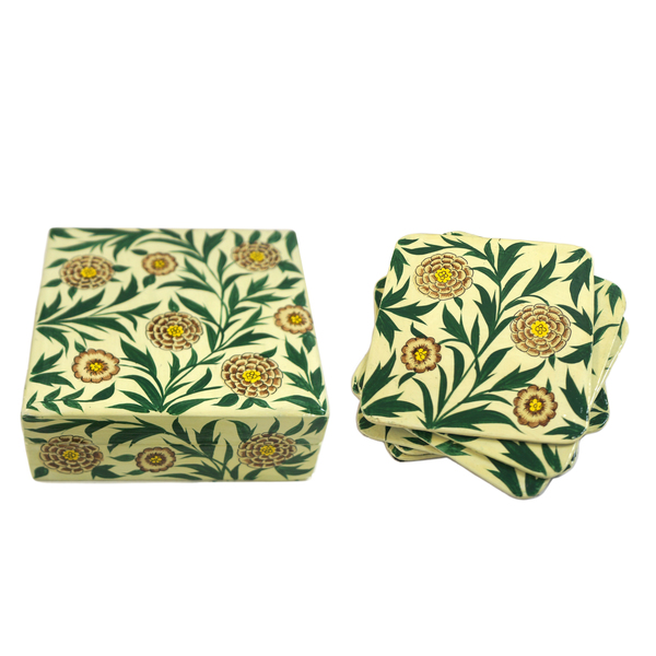 NEW: Indian hand-painted coasters - Chala