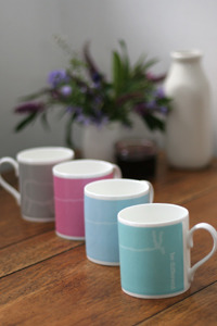 'Be different' mugs