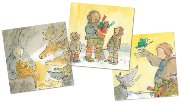 Christmas Fun by Quentin Blake