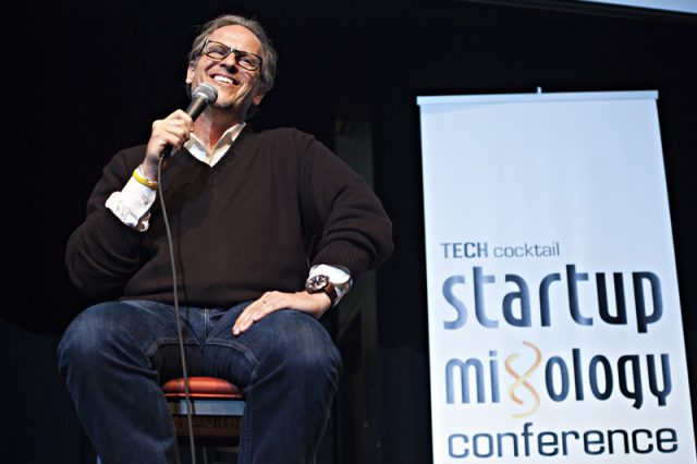 Tony Conrad speaking at Tech Cocktail's Startup Mixology Conference