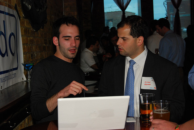Edmodo Demos at Tech Cocktail Chicago in May 2008