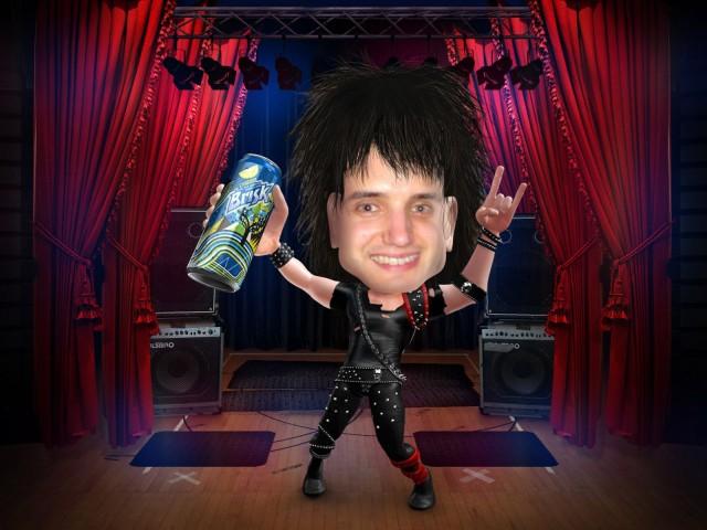 Frank Gruber the Rocker - Brisk Yourself