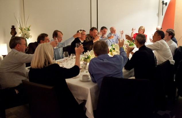 A Toast To Silicon Valley Elite by Barack Obama