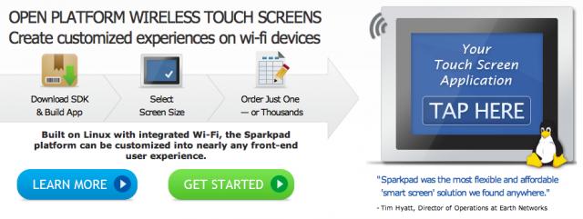 Sparkpad screenshot