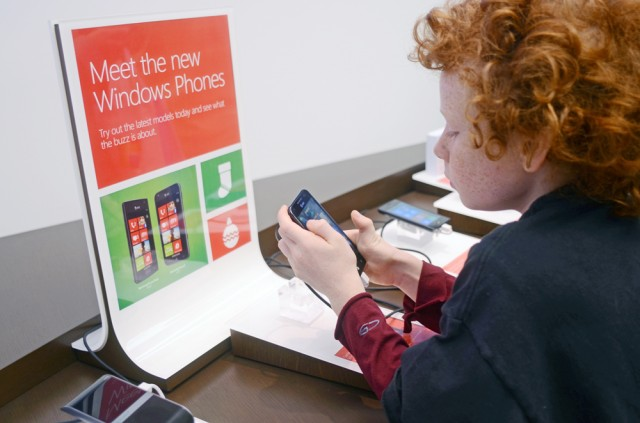 Investigation of the Windows Phone at the Microsoft Store at Tysons Corner