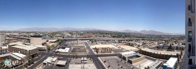 Las Vegas Downtown Project View