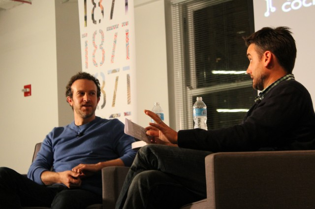 37Signals Co-founder and CEO Jason Fried and Tech Cocktail Co-founder and CEO Frank Gruber