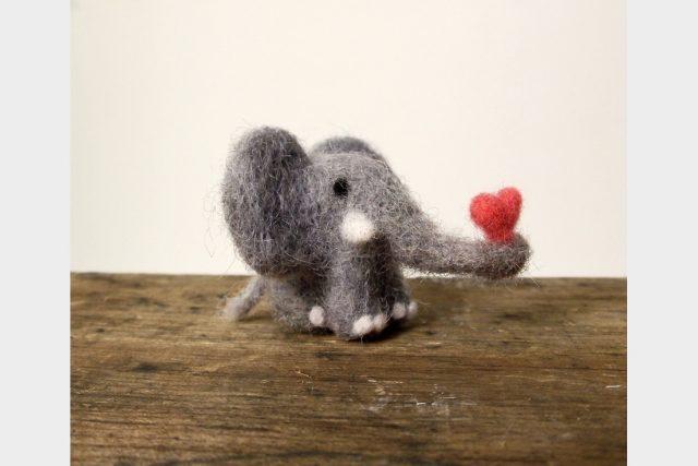 cute mini elephant