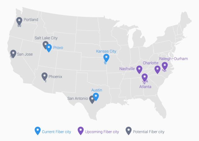 Google Fiber Expansion