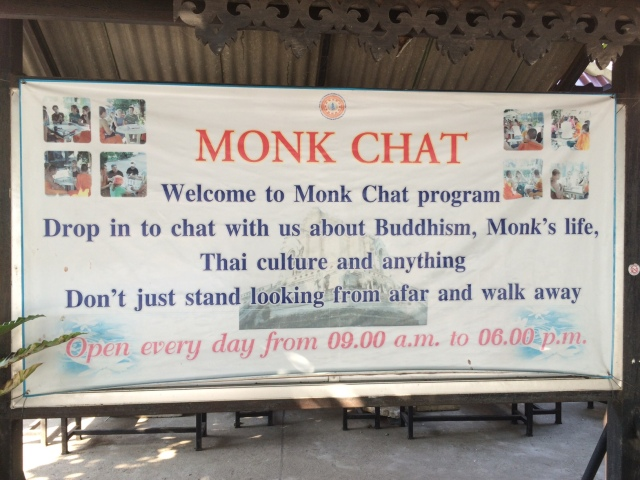 monk chat Chiang Mai