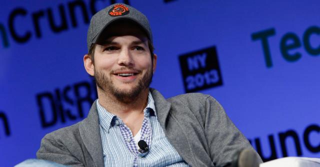 Ashton Kutcher tech conference