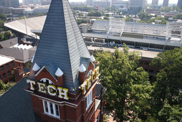 Georgia Tech does a better job than any public university at fueling the startup scene. Image credit: Georgia Tech