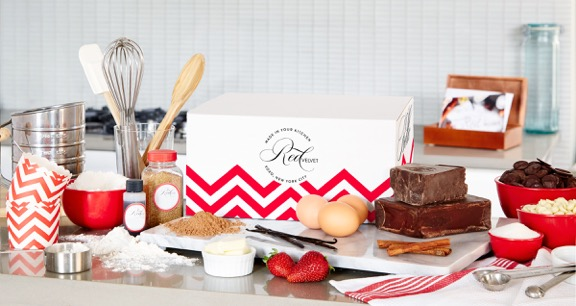 Red Velvet NYC baking kit