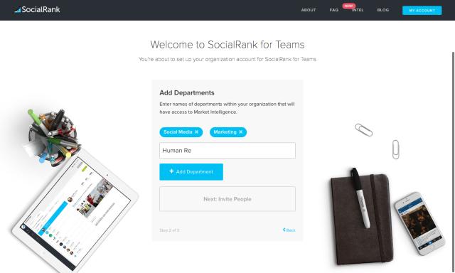 SocialRank for Teams #2