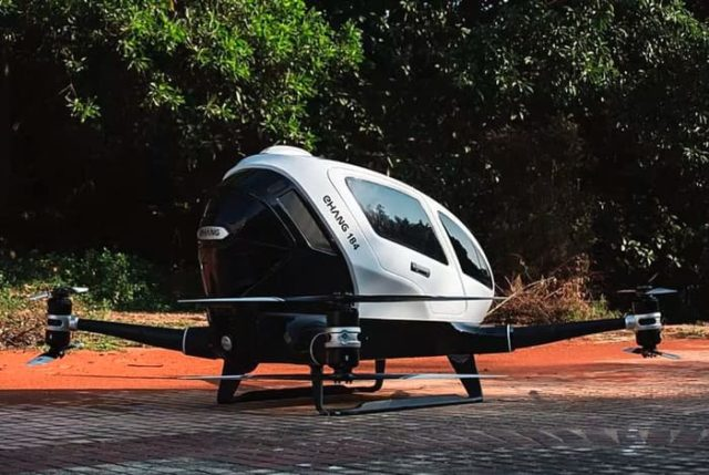 Ehang Drone Taxi