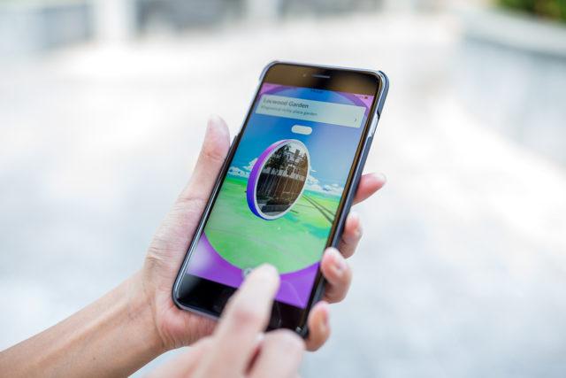 Pokestop on Pokemon Go