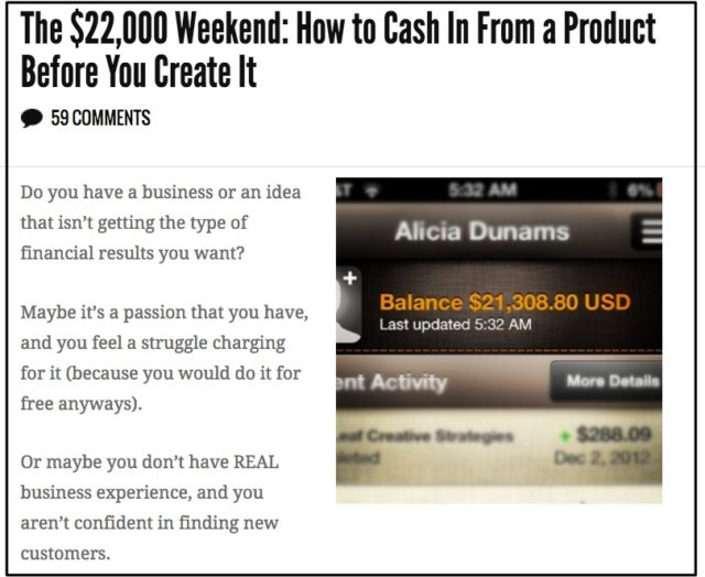 the__22_000_weekend__how_to_cash_in_from_a_product_before_you_create_it