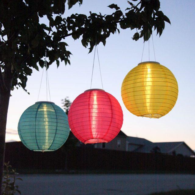 Solar Orb Lanterns