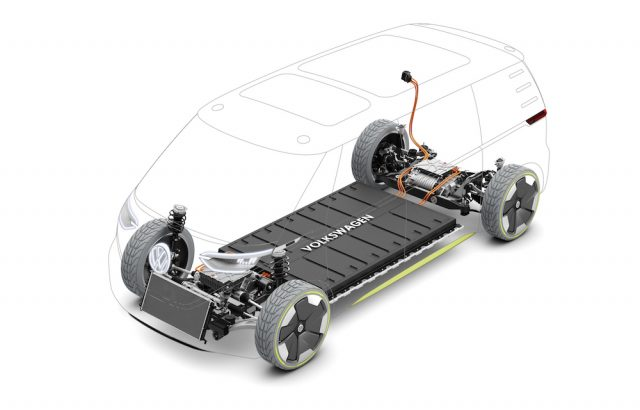 VW Electric Microbus - Battery Drive
