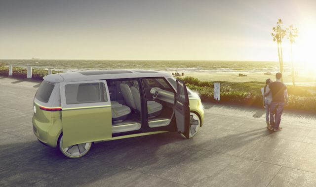 VW Electric Microbus - Chasing Sunsets