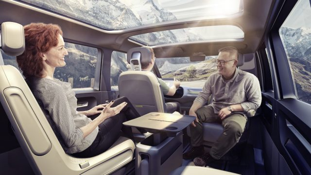 VW Electric Microbus - Reverse Seating