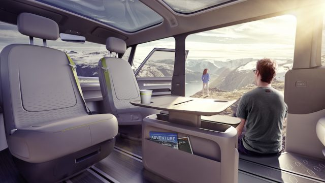 VW Electric Microbuss - Camping Adventures Await