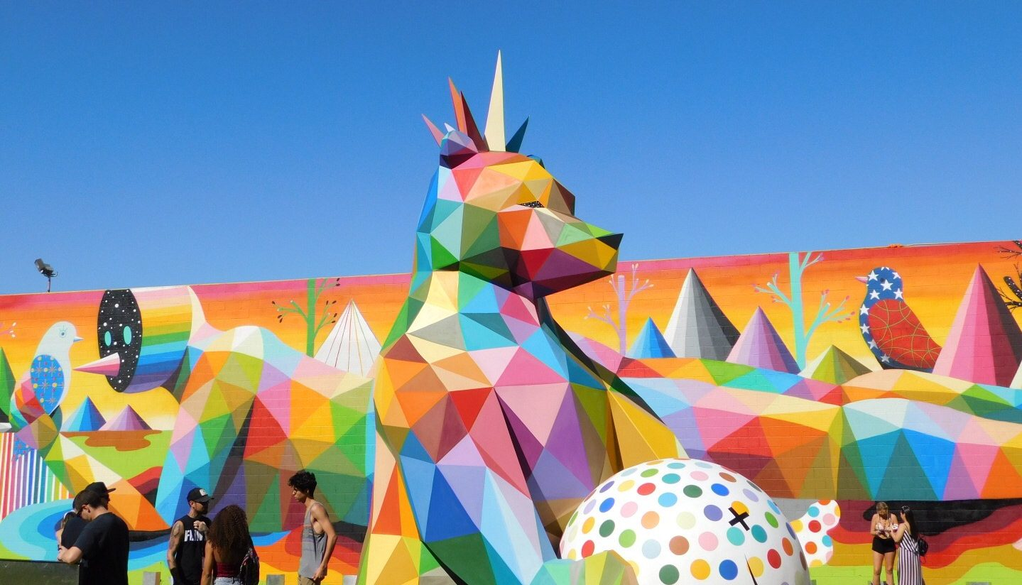 Okuda Bear Life is Beautiful