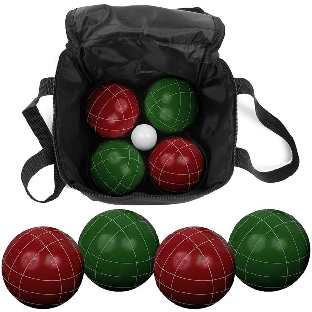 Travel Bocce Ball Game Set